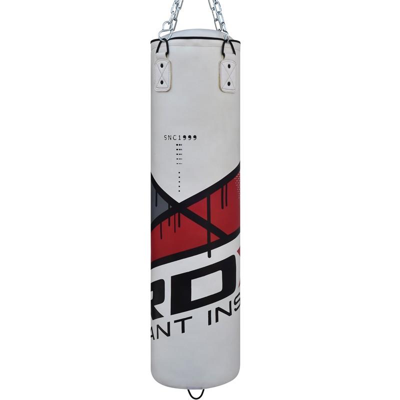 white red and black punching bag clean punching bag