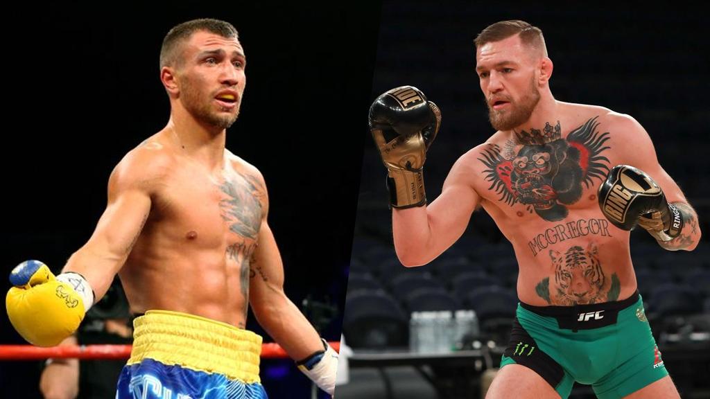 Kết quả hình ảnh cho vasyl lomachenko vs McGregor