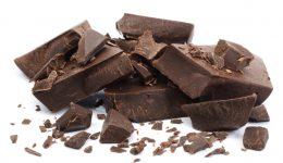 Dark chocolate pieces low calorie snacks
