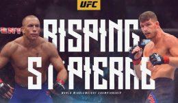 Bisping vs GSP at UFC 217