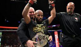 UFC 216, Johnson wins