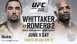 UFC 225 – Robert Whittaker vs. Yoel Romero Fight Preview