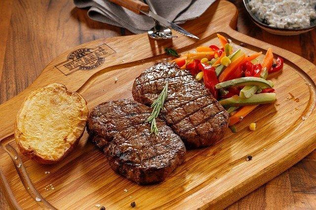 Beef Steak Healthy Diet for Athletes